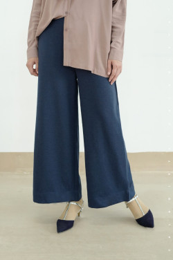 IRONLESS:  Ally Pants in Navy  Blue