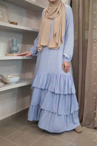 BIIBI Dress in Chambray Blue