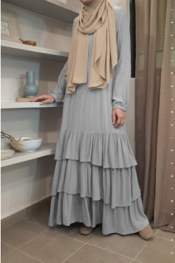 BIIBI Dress in Grey