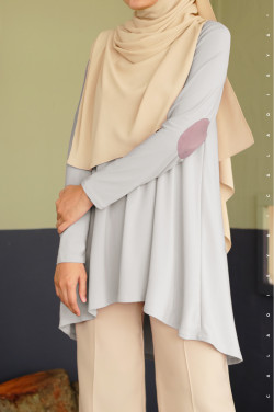 IRONLESS: Bisyarah In Light Grey