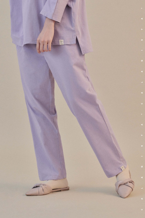 COMFORTWEAR: Breathe Pants  In Lavender Mist