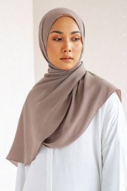 Burj Basic Shawl In Light Beaver
