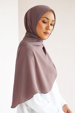Burj Basic Shawl In Twilight Mauve