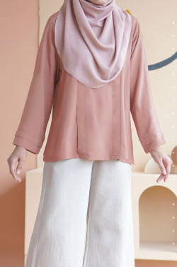 Damai Blouse In Misty Rose
