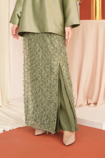 Haara Skirt in Cactus Green