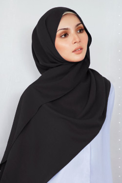 K. Shawl in Black