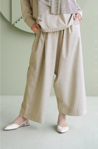 Lawn Pants In Wood Ash