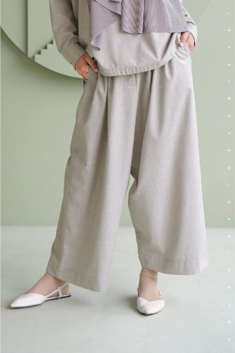 Lawn Pants In Grey