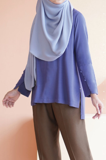 Sada Blouse In Twillight Purple