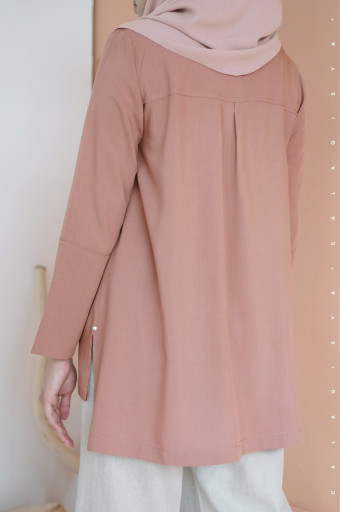 Sada Blouse In Misty Rose