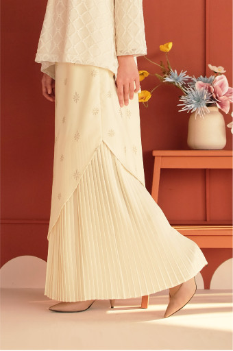Aaman Skirt In Pastel Yellow