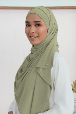 Ironless: Air Scarf In Olive
