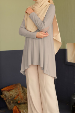 IRONLESS: Bisyarah In Dove Gray