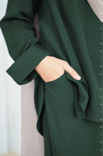 Blow Pants In Dark Green
