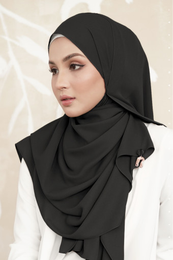 Daniah Shawl (CQ Metal Tag) Black