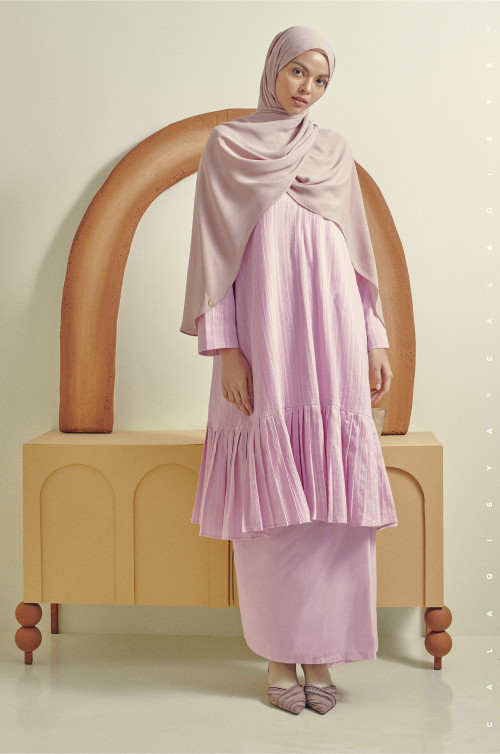 KIRAA IN PALE LILAC (Fully Lined)