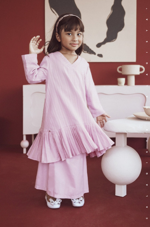 KIRAA KIDS IN PALE LILAC (Fully Lined)