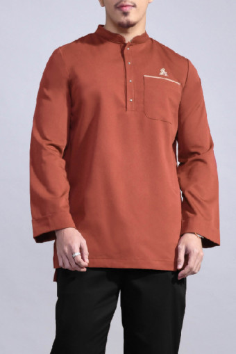 Kurta Bend In Brown