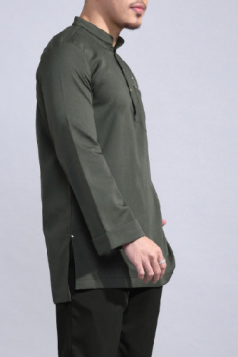 Kurta Bend In Olive
