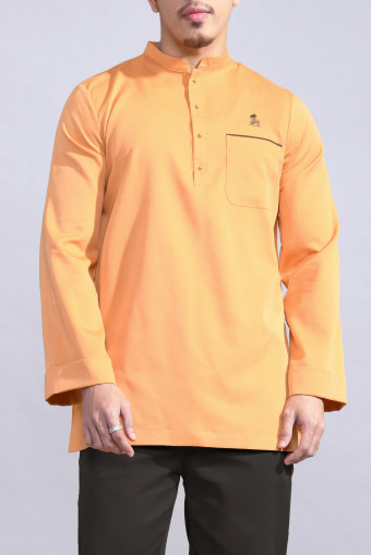 Kurta Bend In Yellow Mustard