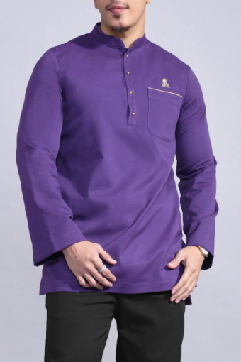 Kurta Bend In Purple