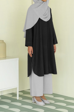 The Long Tunic In Black