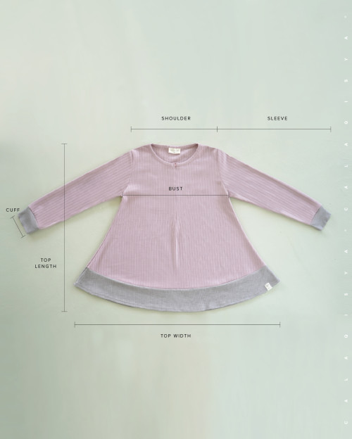Comfortwear: Akeen Set In Lilac Snow And Light Grey
