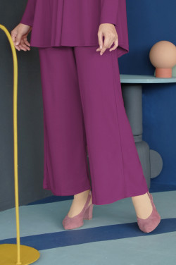 IRONLESS Nazneen Pants 3.0 In Magenta Haze