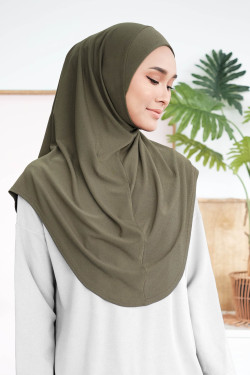 Ironless Safa Instant In Army Green