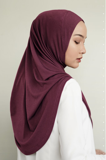 IRONLESS: Safa Instant In Maroon