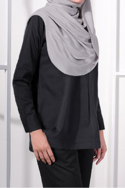 Vee Top in Charcoal