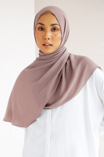 Burj Basic Shawl In Bridal Rose
