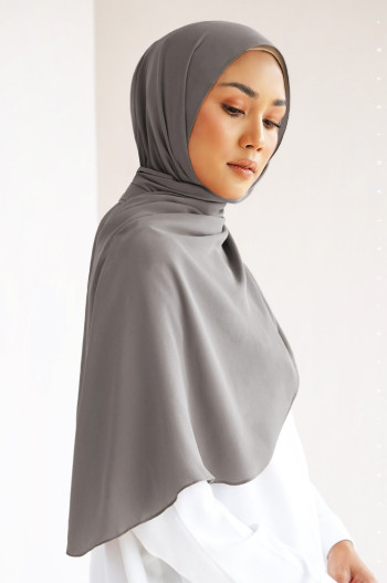 Burj Basic Shawl In Dove Grey